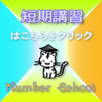 NumberSchool短期講習